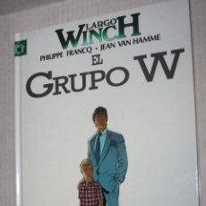 Cómics: LARGO WINCH Nº 2 : EL GRUPO W. (MEJOR PRECIO). Lote 172841427