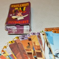 Cómics: LUCKY LUKE - CARTOPUZZLE - DISTEIN 1973 - INCOMPLETA - CAJA CON 39 NAIPES DE 60. Lote 173011860
