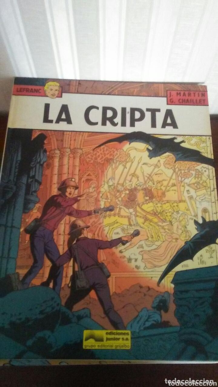 TOMO NUMERO 9 DE LA SERIE LEFRANC AÑOS 80 ,TAPA DURA (Tebeos y Comics - Grijalbo - Lefranc)
