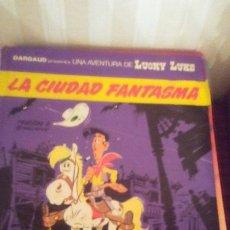 Cómics: TOMO NUMERO 38 DE LA SERIE LUCKY LUKE,AÑOS 80 ,TAPA DURA. Lote 173087932