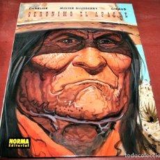 Cómics: MISTER BLUEBERRY - GERÓNIMO EL APACHE - CHARLIER/GIRAUD - NORMA 2000. Lote 173118612