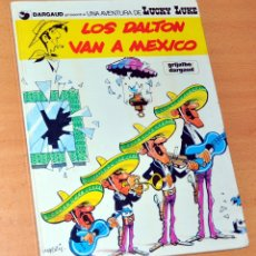 Cómics: LUCKY LUKE - LOS DALTON VAN A MÉXICO - EDITORIAL GRIJALBO / DARGAUD - AÑO 1985. Lote 173133162