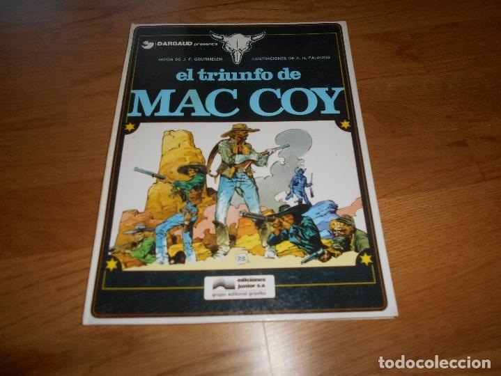 MAC COY Nº 4 EL TRIUNFO DE MAC COY (GRIJALBO / DARGAUD ) TAPA DURA 1979 BUEN ESTADO (Tebeos y Comics - Grijalbo - Mac Coy)
