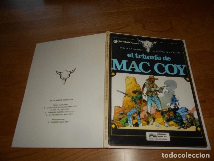 Cómics: MAC COY Nº 4 EL TRIUNFO DE MAC COY (GRIJALBO / DARGAUD ) TAPA DURA 1979 buen estado - Foto 7 - 173423889