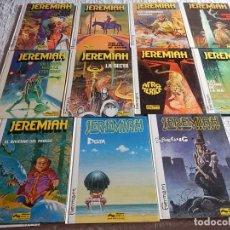 Cómics: JEREMIAH - COLECCION DE LOS 11 PRIMEROS NUMEROS. Lote 173456123