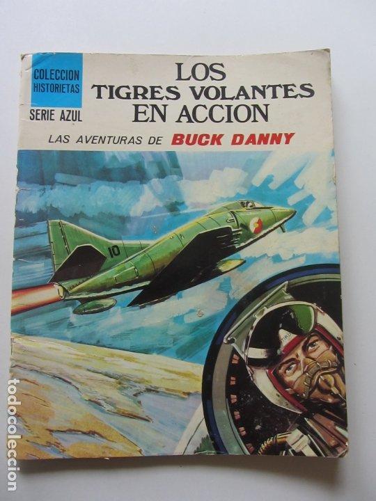 LOS TIGRES VOLANTES EN ACCIÓN AVENTURAS DE BUCK DANNY. SUSAETA COLECCIÓN HISTORIETAS SERIE AZUL C8 (Tebeos y Comics - Grijalbo - Buck Danny)