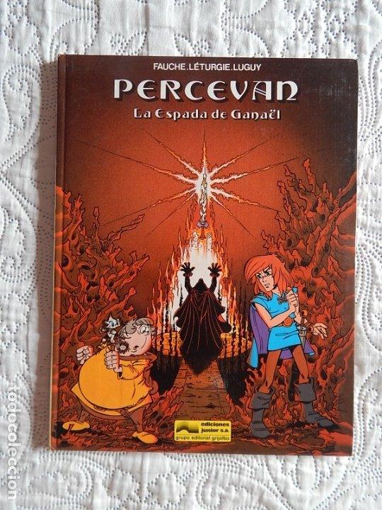 PERCEVAN - LA ESPADA DE GANAEL -N. 3 (Tebeos y Comics - Grijalbo - Percevan)