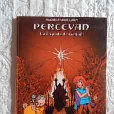 Cómics: PERCEVAN - LA ESPADA DE GANAEL -N. 3. Lote 173489639