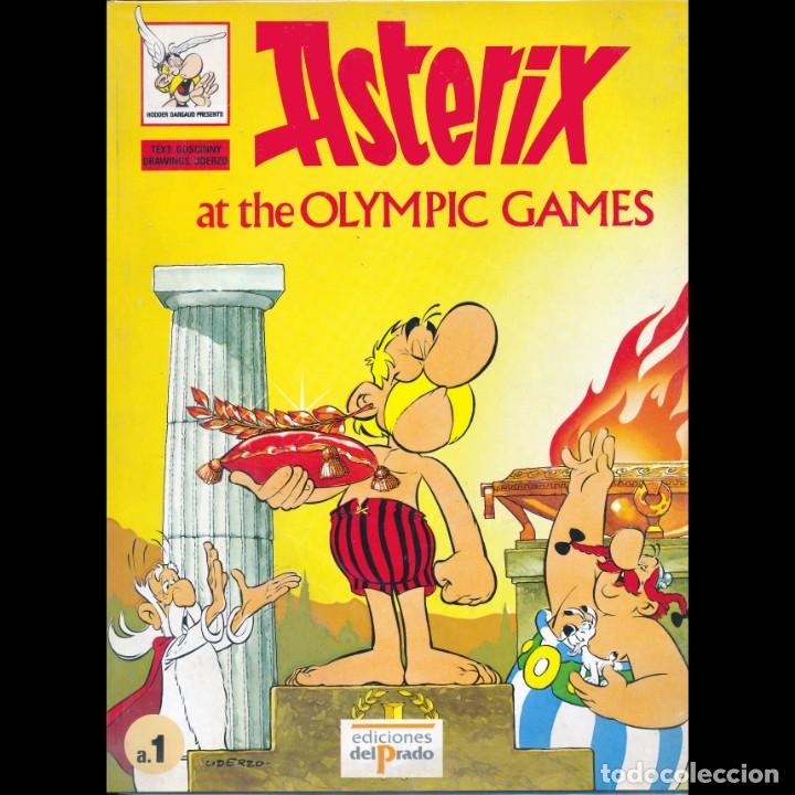 ASTERIX AT THE OLYMPIC GAMES. ASTERIX EN LOS JUEGOS OLIMPICOS EN INGLES. EDICIONES DEL PRADO. (Tebeos y Comics - Grijalbo - Asterix)