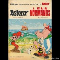 Cómics: ASTERIX I ELS NORMANDS. MAS IVARS. ASTERIX Y LOS NORMANDOS EN VALENCIANO. 1976. Lote 173533125