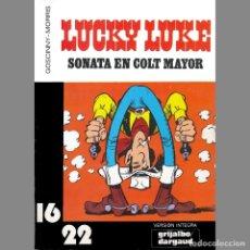 Cómics: LUCKY LUKE. SONATA EN COLT MAYOR 16 22 GRIJALBO DARGAUD. RENE GOSCINNY. MORRIS. Lote 173533749