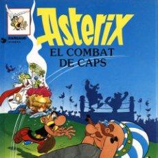 Cómics: ASTERIX: EL COMBAT DE CAPS (GRIJALBO, 1991) DE UDERZO I GOSCINNY. EN CATALÀ.. Lote 173534134