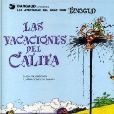 Cómics: IZNOGUD Nº 12 LAS VACACIONES DEL CALIFA - GRIJALBO - BUEN ESTADO - OFI15T. Lote 173605599