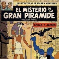 Cómics: BLAKE Y MORTIMER Nº 1 Y 2 EL MISTERIO DE LA GRAN PIRAMIDE COMPLETA - CARTONE - BUEN ESTADO - OFI15T. Lote 173605862