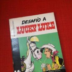 Cómics: DESAFIO A LUCKY LUKE.COLECCION 16/22 GRIJALBO DARGAUD.EN BUEN ESTADO.DIFICIL. Lote 173811198