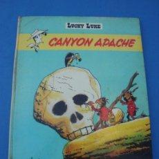 Cómics: LUCKY LUKE CANYON APACHE DARGAUD EDITEUR 1972 EN FRANCÉS. Lote 173984199