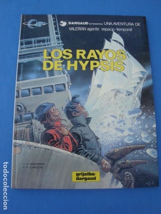 VALERIAN- LOS RAYOS DE HYPSIS DARGAUD 1986 (Tebeos y Comics - Grijalbo - Valerian)