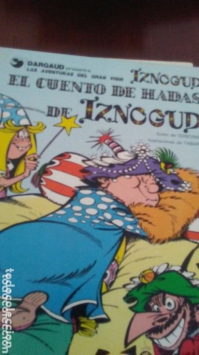 TOMO DE IZNOGUD AÑOS 70 (Tebeos y Comics - Grijalbo - Iznogoud)