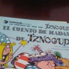 Cómics: TOMO DE IZNOGUD AÑOS 70. Lote 174016517