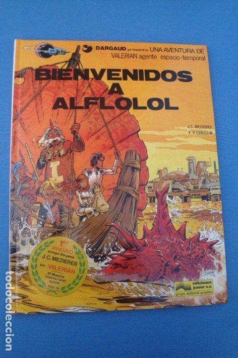 VALERIAN AGENTE ESPACIO-TEMPORAL -BIENVENIDOS A ALFLOLOL1978 (Tebeos y Comics - Grijalbo - Valerian)