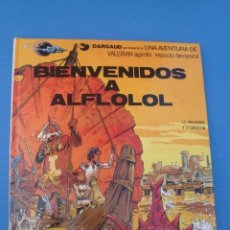 Cómics: VALERIAN AGENTE ESPACIO-TEMPORAL -BIENVENIDOS A ALFLOLOL1978. Lote 174040478