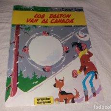Cómics: LOS DALTON VAN AL CANADÁ. LUCKY LUKE. GRIJALBO DARGAUD. N° 22. RÚSTICA. TAPA BLANDA.. Lote 174046695