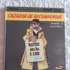 Comics : UNA AVENTURA DE LUCKY LUKE - CAZADOR DE RECOMPENSAS N. 42. Lote 174083849