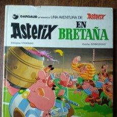 Cómics: ASTERIX, EN BRETAÑA - EDICIONES GRIJALBO 1981 - TAPA DURA . Lote 174085617