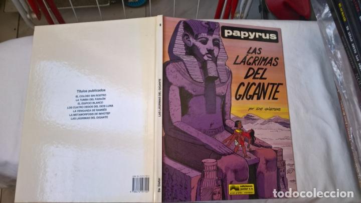 COMIC: PAPYRUS Nº 9. LAS LAGRIMAS DEL GIGANTE (Tebeos y Comics - Grijalbo - Papyrus)