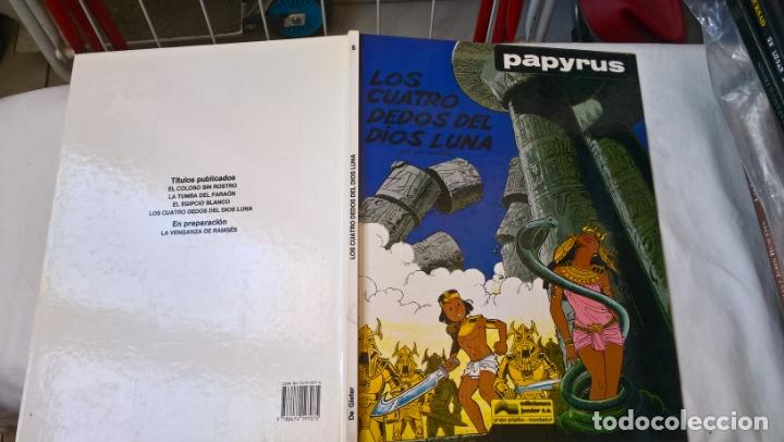 COMIC: PAPYRUS Nº 6. LOS CUATRO DEDOS DEL DIOS LUNA (Tebeos y Comics - Grijalbo - Papyrus)