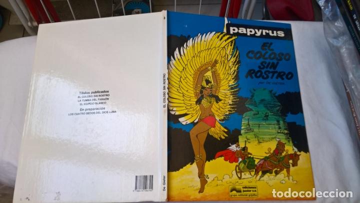COMIC: PAPYRUS Nº 3. EL COLOSO SIN ROSTRO (Tebeos y Comics - Grijalbo - Papyrus)