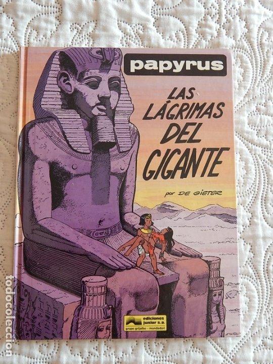 PAPYRUS - LAS LAGRIMAS DEL GIGANTE - N.9 (Tebeos y Comics - Grijalbo - Papyrus)