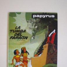 Cómics: PAPYRUS Nº 4 - LA TUMBA DEL FARAÓN - DE GIETER - EDICIONES JUNIOR - GRIJALBO 1988. Lote 174215814