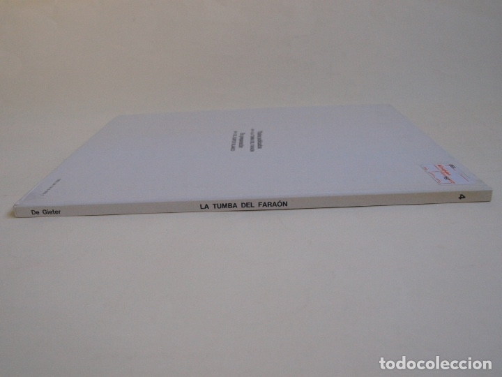 Cómics: PAPYRUS Nº 4 - LA TUMBA DEL FARAÓN - DE GIETER - EDICIONES JUNIOR - GRIJALBO 1988 - Foto 2 - 174215814