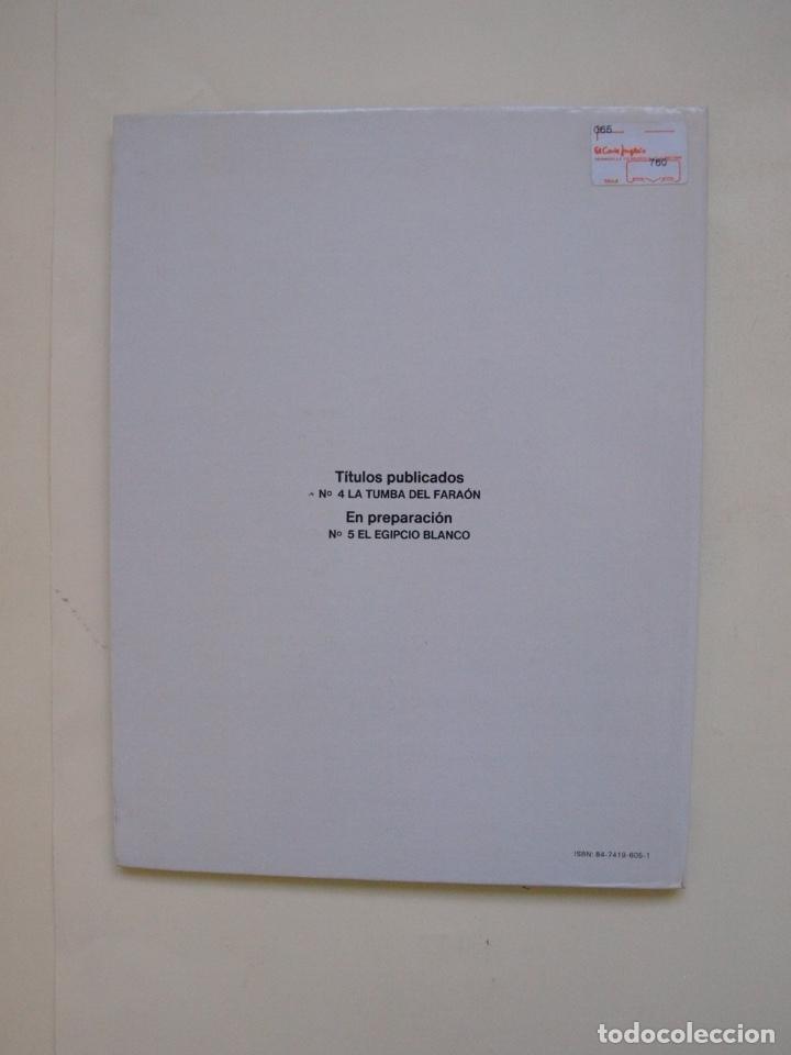 Cómics: PAPYRUS Nº 4 - LA TUMBA DEL FARAÓN - DE GIETER - EDICIONES JUNIOR - GRIJALBO 1988 - Foto 3 - 174215814