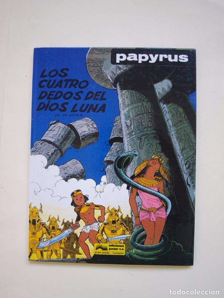 PAPYRUS Nº 6 - LOS CUATRO DEDOS DEL DIOS LUNA - DE GIETER - EDICIONES JUNIOR - GRIJALBO 1989 (Tebeos y Comics - Grijalbo - Papyrus)