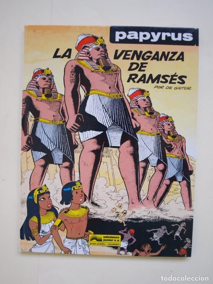 PAPYRUS Nº 7 - LA VENGANZA DE RAMSÉS - DE GIETER - EDICIONES JUNIOR - GRIJALBO 1990 (Tebeos y Comics - Grijalbo - Papyrus)