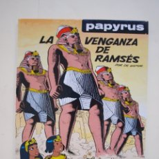 Cómics: PAPYRUS Nº 7 - LA VENGANZA DE RAMSÉS - DE GIETER - EDICIONES JUNIOR - GRIJALBO 1990. Lote 174217210