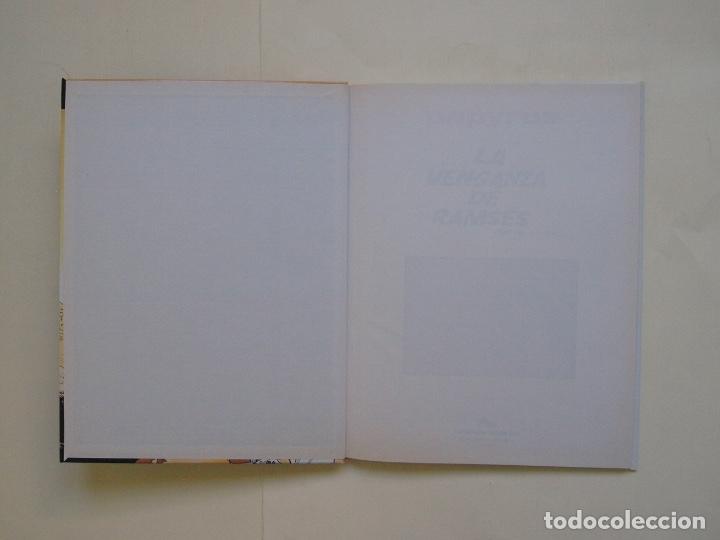 Cómics: PAPYRUS Nº 7 - LA VENGANZA DE RAMSÉS - DE GIETER - EDICIONES JUNIOR - GRIJALBO 1990 - Foto 4 - 174217210