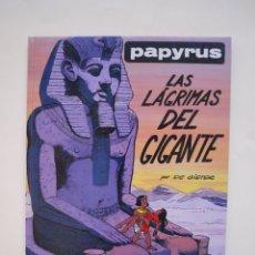 Cómics: PAPYRUS Nº 9 - LAS LÁGRIMAS DEL GIGANTE - DE GIETER - EDICIONES JUNIOR - GRIJALBO 1991. Lote 174218162