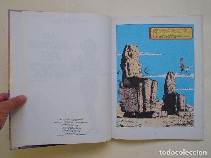 Cómics: PAPYRUS Nº 9 - LAS LÁGRIMAS DEL GIGANTE - DE GIETER - EDICIONES JUNIOR - GRIJALBO 1991 - Foto 7 - 174218162
