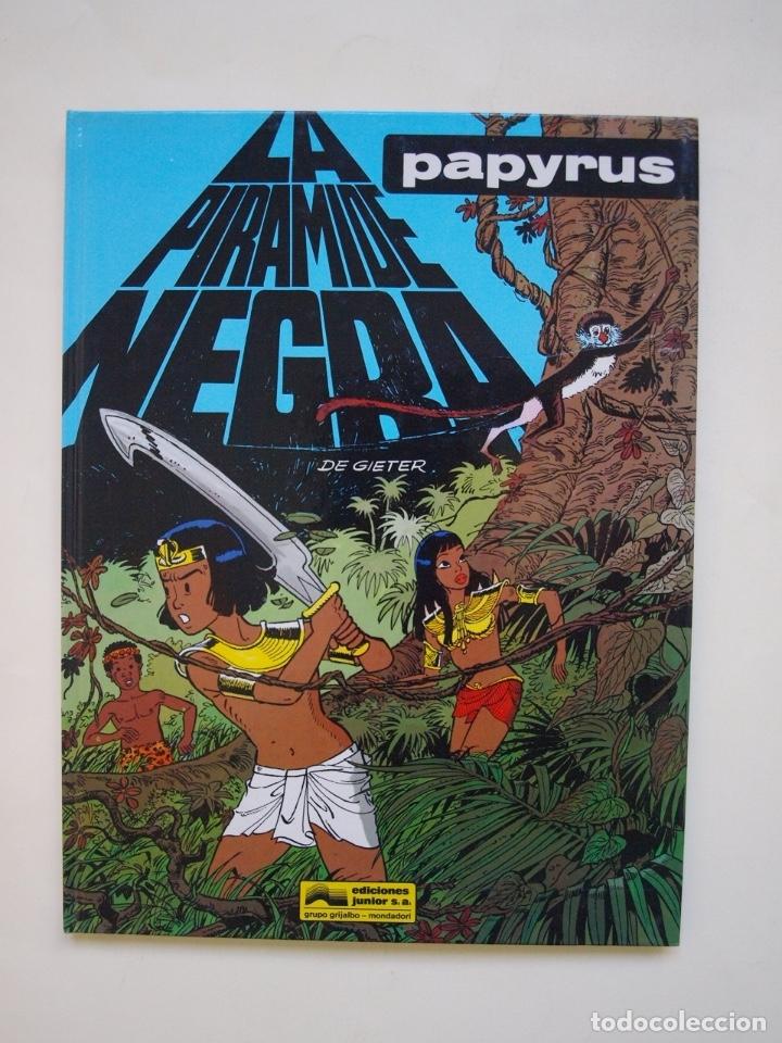 PAPYRUS Nº 10 - LA PIRÁMIDE NEGRA - DE GIETER - EDICIONES JUNIOR - GRIJALBO 1991 (Tebeos y Comics - Grijalbo - Papyrus)