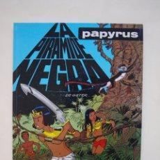 Cómics: PAPYRUS Nº 10 - LA PIRÁMIDE NEGRA - DE GIETER - EDICIONES JUNIOR - GRIJALBO 1991. Lote 174218879