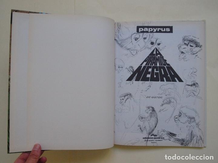 Cómics: PAPYRUS Nº 10 - LA PIRÁMIDE NEGRA - DE GIETER - EDICIONES JUNIOR - GRIJALBO 1991 - Foto 5 - 174218879