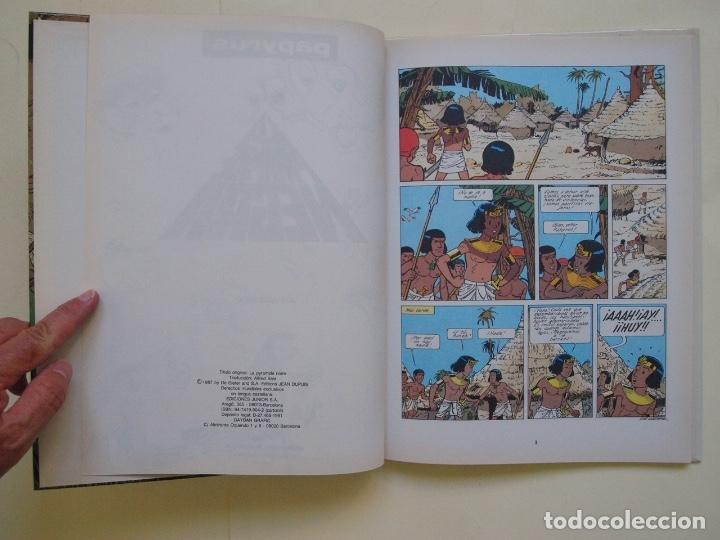Cómics: PAPYRUS Nº 10 - LA PIRÁMIDE NEGRA - DE GIETER - EDICIONES JUNIOR - GRIJALBO 1991 - Foto 6 - 174218879