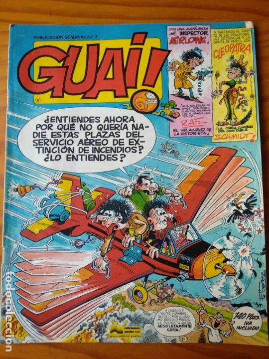 GUAI! Nº 3 - EDICIONES JUNIOR GRIJALBO- (Tebeos y Comics - Grijalbo - Otros)