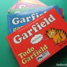 Cómics: GARFIELD TOMOS DEL 1 AL 6 EDICIONES JUNIOR GRIJALBO 1985. Lote 174257783