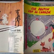 Cómics: COMICS: LUCKY LUKE Nº 22. LOS DALTON VAN AL CANADA. TAPA BLANDA 1982 (B.E). Lote 174310610