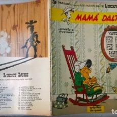 Cómics: COMICS: LUCKY LUKE Nº 28. MAMA DALTON. TAPA BLANDA 1985 (B.E). Lote 174310808