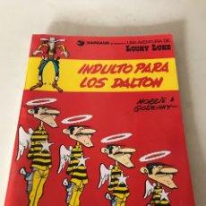 Cómics: LUCKY LUKE. INDULTO PARA LOS DALTON. Lote 174507519